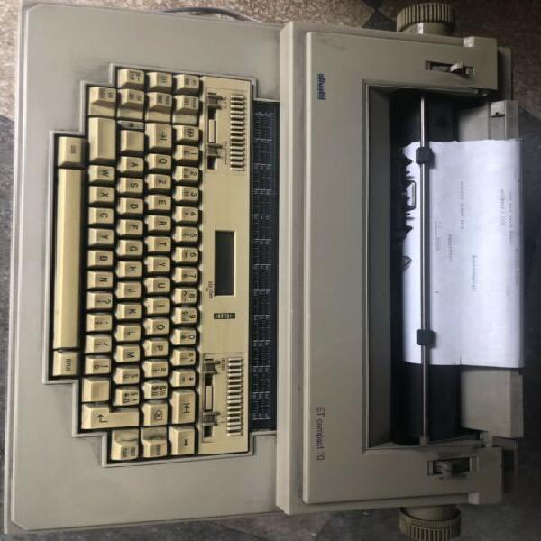 Macchina scrivere olivetti et compact 70