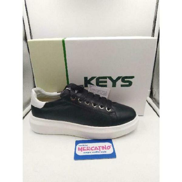 Scarpe keys nero para bianca donna