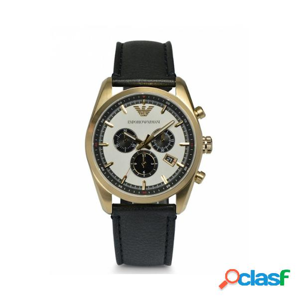 Emporio armani orologio uomo cassa dorata mod. ar6006
