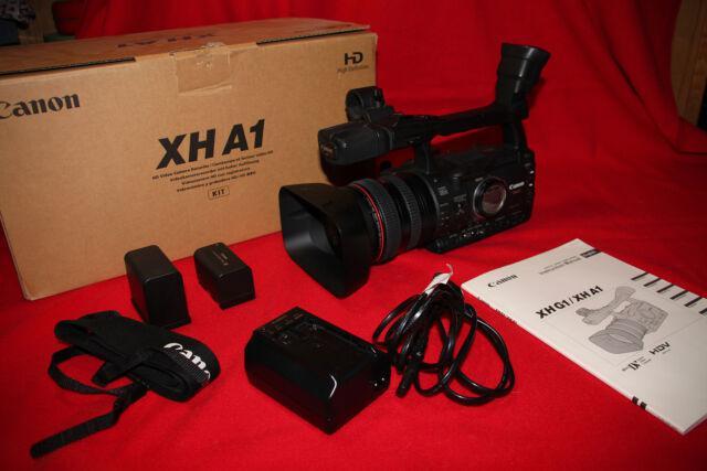 Canon xh a1 videocamera hd