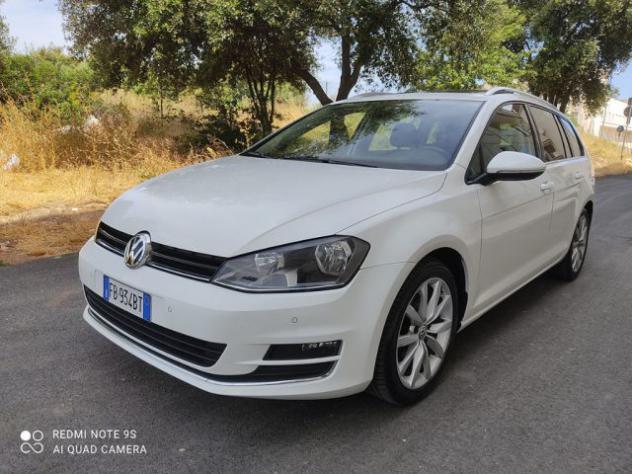 Volkswagen golf variant 2.0 tdi dsg highline bluemotion