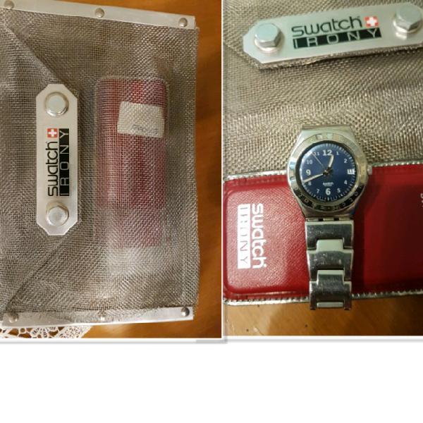Orologio swatch irony speciale con confezione speci