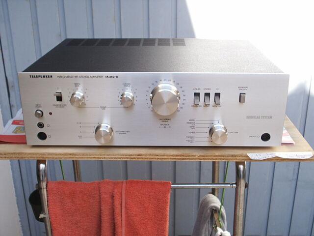 Amplificatore vintage telefunken ta 350-b hifi
