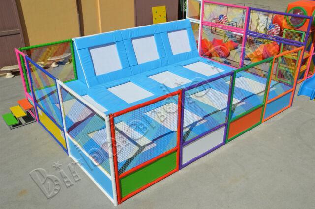 Giochi gonfiabili trampolini elastici trampolini playground