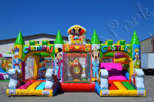 Fabbrica giochi gonfiabili scivoli per bambini playground