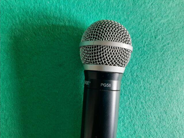 Microfono wireless shure blx24e/pg58