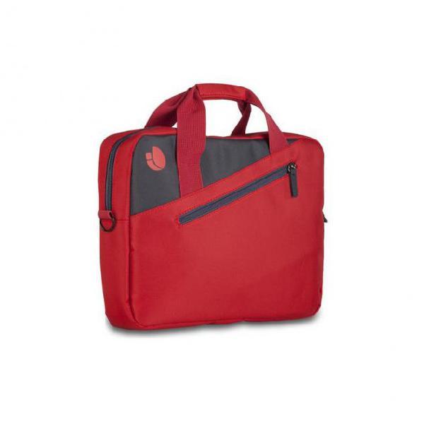"Valigetta per portatile ngs ginger red gingerred 15,6"" rosso"