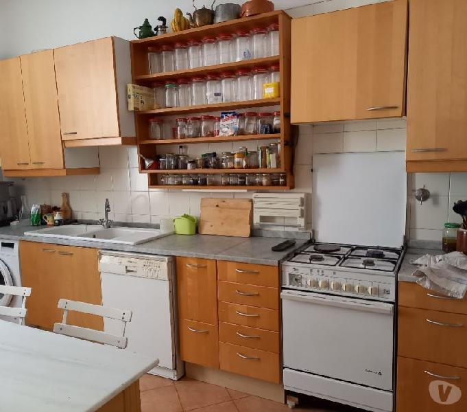 Cucina legno piano marmo ottima qualità in vendita roma - vendita mobili usati