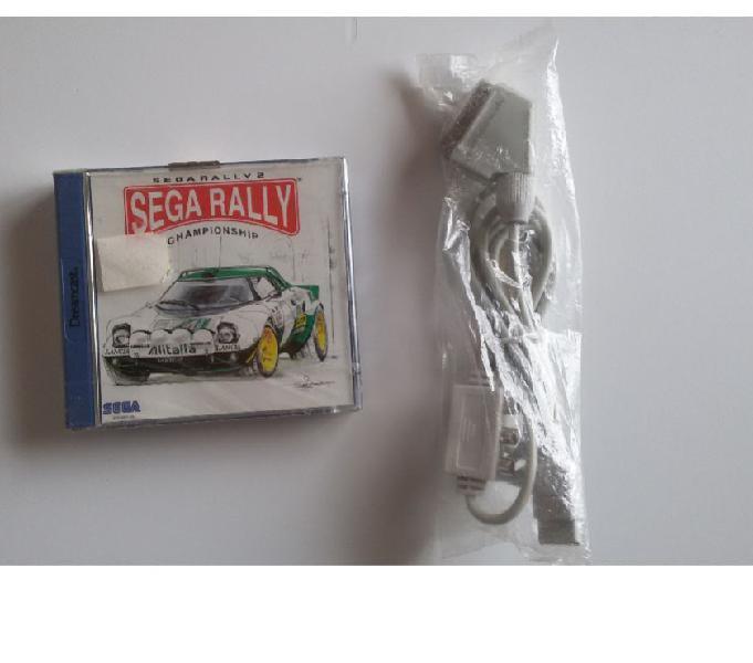 Sega rally dreamcast + cavo scart rgb milano