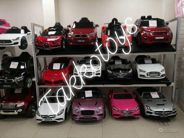 Auto macchina elettrica store 3 takkotoys roma