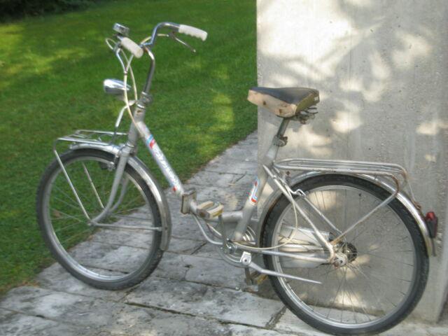 Rara bicicletta pieghevole atala