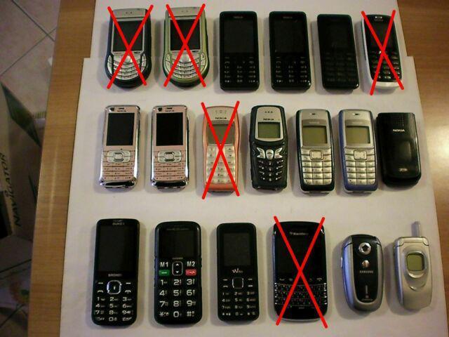 Telefoni vecchia generazione funzionanti