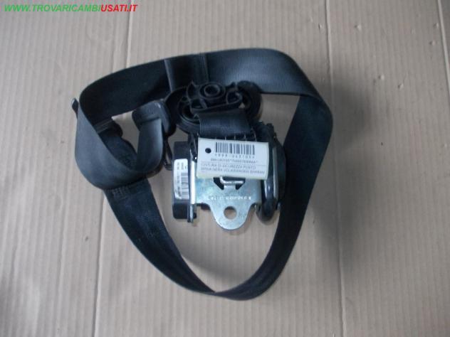 Cintura di sicurezza post.d. spina nera volkswagen sharan