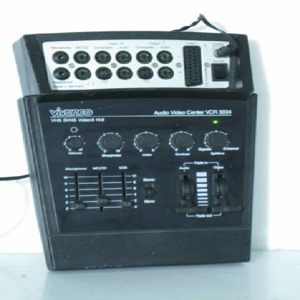 Mixer video audio processore vivanco vcr 3034