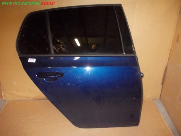 Porta post.d. blu no alz. volkswagen golf (5k) 3 porte / 5