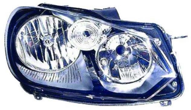 Proiettore per volkswagen golf vi gti dal 2009 al 2012 lato