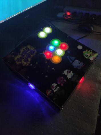 Arcade stick - pc/ps3/raspberry gamepad pro