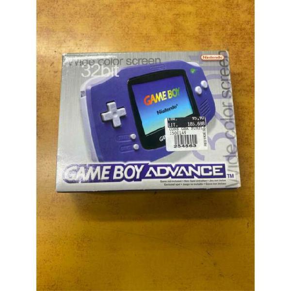 Console game boy advance scatolato (no sportello)