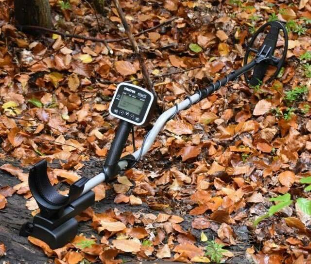 Metal detector alter71 display grafico molto utile