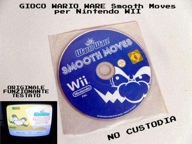 Wario ware smooth moves nintendo wii pal - funznionante,