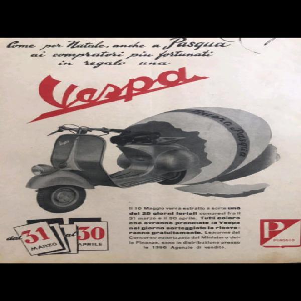 Piaggio vespa anni '40/'80