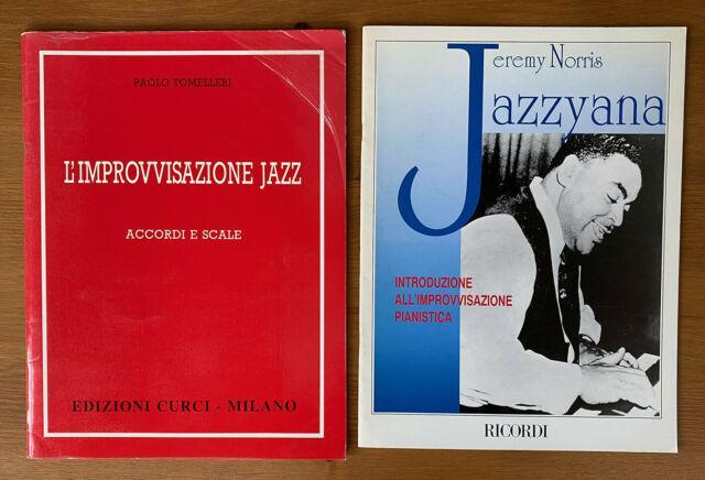 12 metodi spartiti per pianoforte jazz improvvisazione
