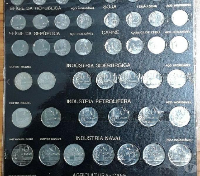Serie completa di 50 monete centavo e cruzeiro del brasile roma - collezionismo in vendita