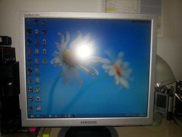 Monitor samsung schermo lcd