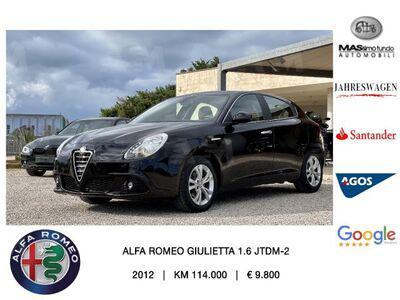 Alfa romeo giulietta 1.6 jtdm-2 105 cv distinctive usata a