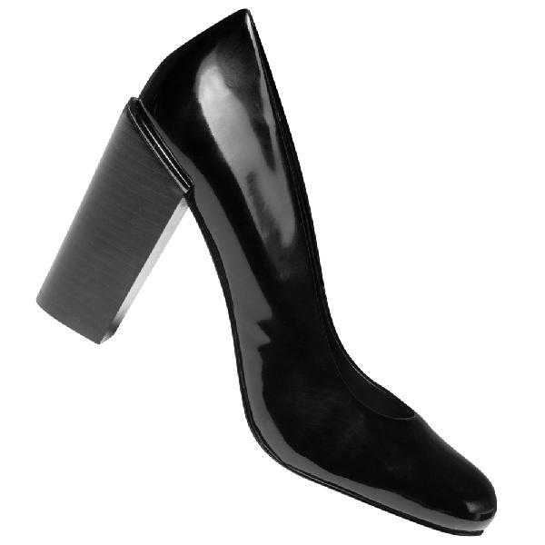 Calvin klein jeans chade patent donna scarpe con tacco