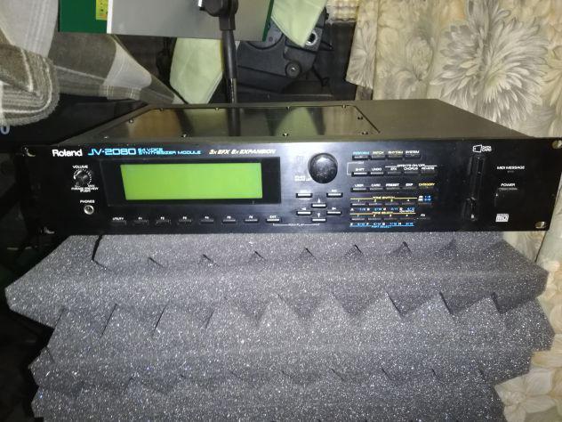 Espander roland jv2080 + jv1080 + opzional schede jv-80