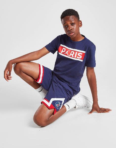 Jordan paris saint germain bars logo t-shirt junior