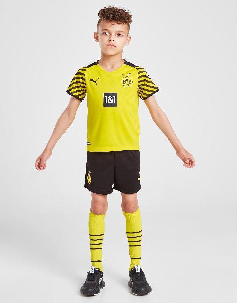 Puma borussia dortmund 2021/22 home kit children