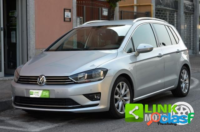 Volkswagen golf sportsvan diesel in vendita a trezzo sull'adda (milano)