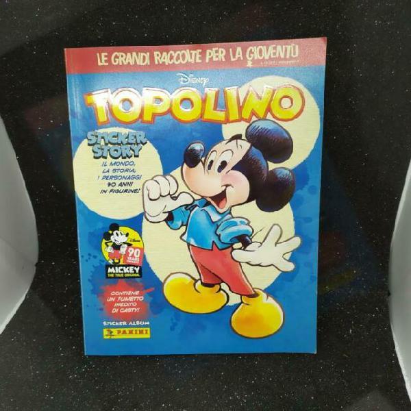 Album panini topolino sticker story