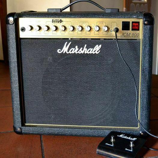 Amplificatore combo 50 watt valvolare marshall jcm 900