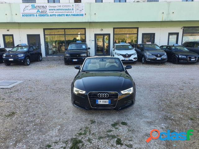 Audi a5 cabrio diesel in vendita a pesaro (pesaro-urbino)