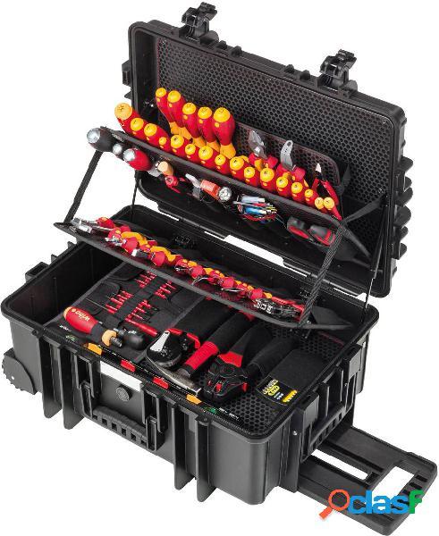 Wiha competence xxl ii 42069 elettricisti valigetta porta utensili con contenuto 115 parti (l x a x p) 440 x 625 x 280 mm
