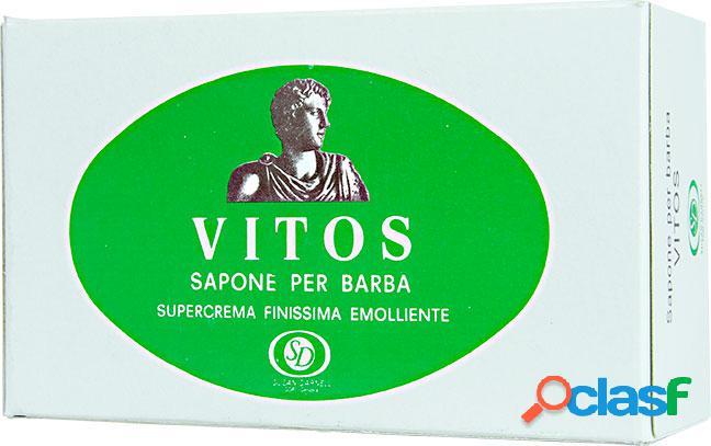 Sapone per barba super crema finissima emolliente - vitos - (1000ml)