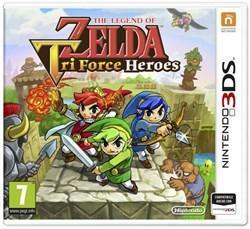 3ds the legend of zelda: tri force heroes