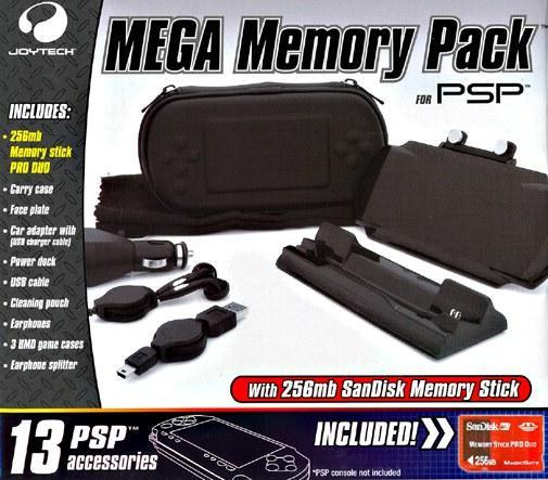 Joytech - psp mega memory pack