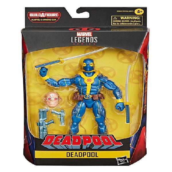Marvel legends deadpool personaggi ass.