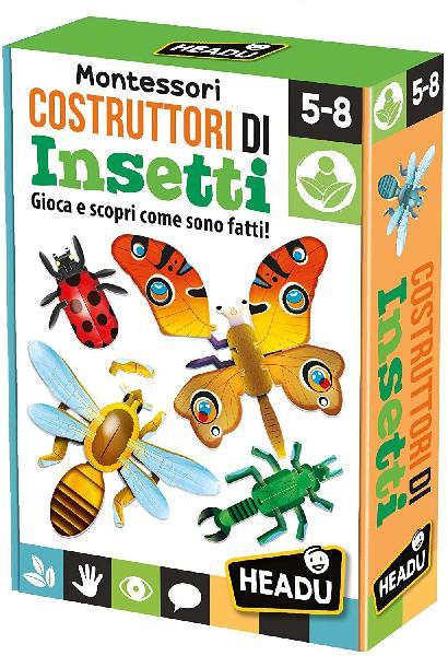 Montessori costruttori di insetti