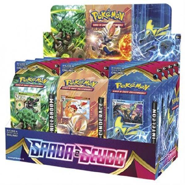 Pokemon spada e scudo 12 mazzi