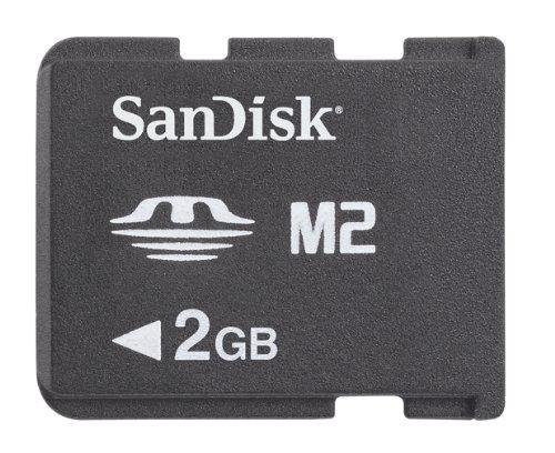 Sandisk - memory stick micro m2 2gb psp go!