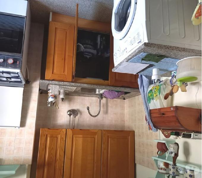 Cucina legno lavello pensile scolapiatti larga 126 in vendita roma - vendita mobili usati
