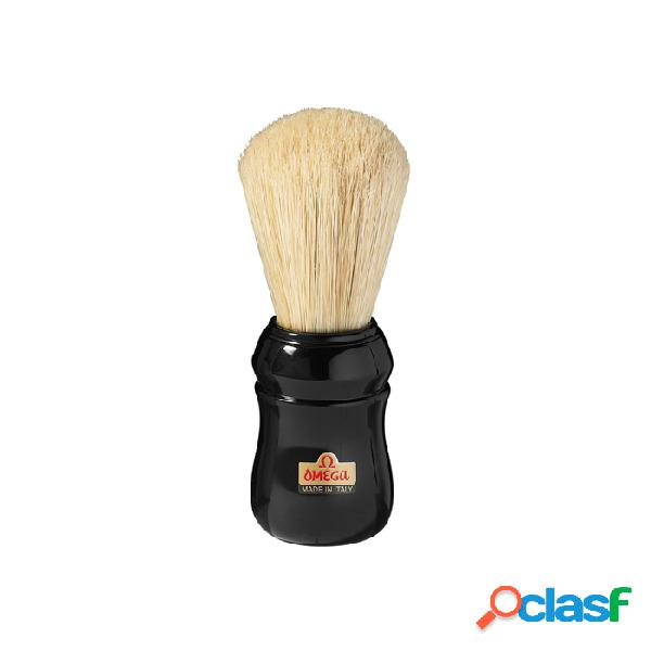 Omega professional pennello da barba multicolore