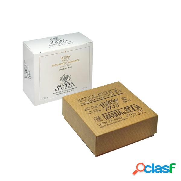 Saponificio varesino manna di sicilia sapone da barba refill 150 g