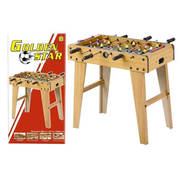 Calcio balilla golden star per bambini - mazzeo giocattoli