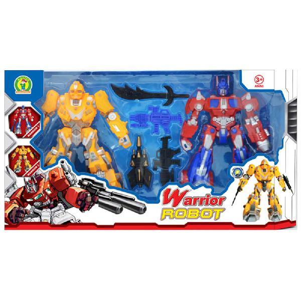 Robot giocattolo warrior robot - mazzeo giocattoli